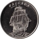 Gilbert Islands 1 Dollar 2014 Pallada