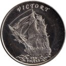 Gilbert Islands 1 Dollar 2014 Victory